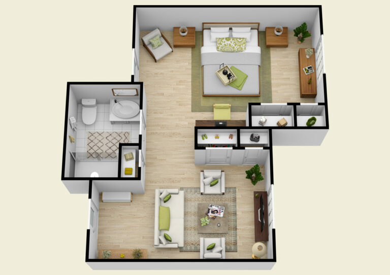 The Gardens of Castle Hills | Memory Care Semiprivate Suite