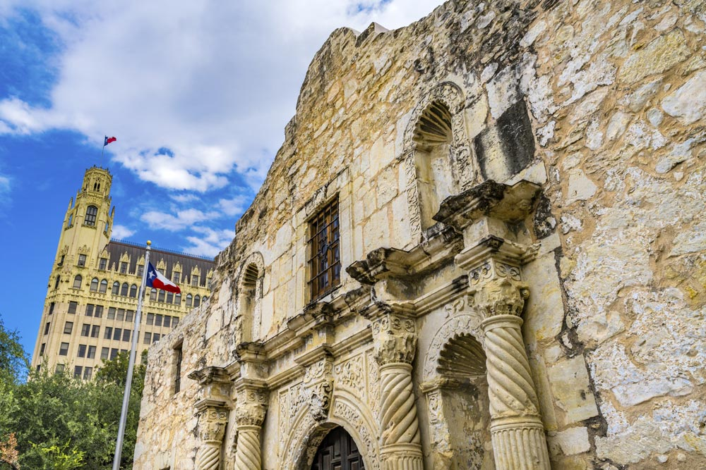The Gardens of Castle Hills | The Alamo